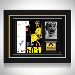 Psycho Script Limited Signature Edition Studio Licensed Custom Frame