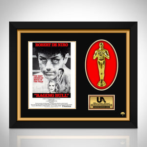 Raging Bull - Limited Edition Studio Licensed 24k Gold Plated Oscar Custom Frame