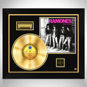 Ramones 'Rocket To Russia' Limited Collectors' Edition Studio Licensed Gold Lp Custom Frame