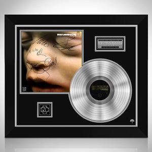 Rammstein - Mutter Limited Signature Edition Licensed Platinum LP Custom Frame