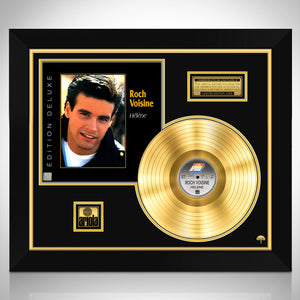 Roch Voisine - Hélène Gold LP Limited Collector Edition Studio Licensed Custom Frame