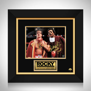 Rocky 1976 - Rocky vs Creed Limited Signature Edition Studio Licensed Photo Custom Frame