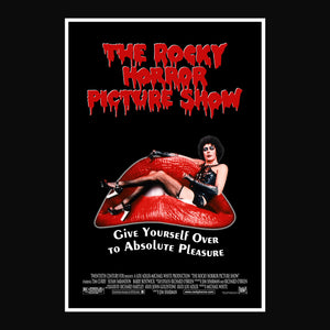 Rocky Horror Picture Show- Exclusive Limited Edition Movie Reel Prop & Mini Poster Custom Frame