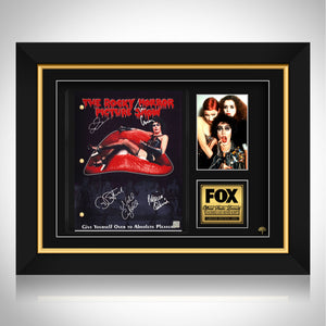 The Rocky Horror Picture Show Limited Signature Edition Studio Licensed Script Custom Frame
