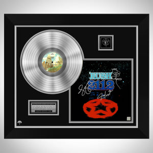 Rush 2112 Platinum LP Limited Signature Edition Studio Licensed Custom Frame