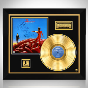 Rush - Hemispheres Gold LP Limited Signature Edition Studio Licensed  Custom Frame
