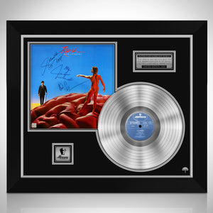 Rush Hemispheres Neil Peart Platinum LP Limited Signature Edition Studio Licensed Custom Frame