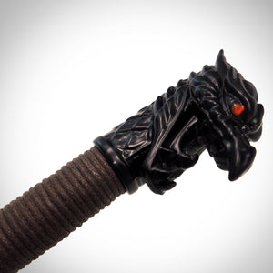 Ninja Sai Martial Arts Set with Dragon carved head Pommel