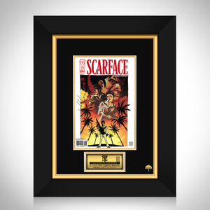 Scarface- Scarred For Life # 1 (2006) Hand-Signed Comic Book By John Layman & Al Pacino Custom Frame
