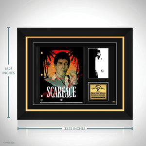 Scarface Movie Script Limited Signature Edition Studio Licensed Custom Frame