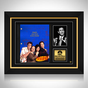 Seinfeld- Limited Signature Edition Studio Licensed Script Custom Frame