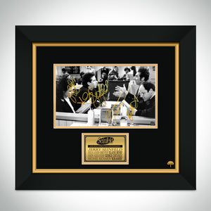Seinfeld Monk's Café Restaurant Booth Photo Limited Signature Edition Studio Licensed Custom Frame