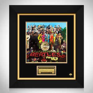 The Beatles - Sgt. Pepper's Lonely Hearts Club Band LP Cover Limited Signature Edition Studio Licensed Custom Frame