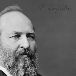 President James A. Garfield Photo Limited Signature Edition Studio Licensed Custom Frame