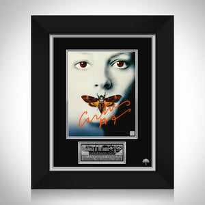 Silence Of The Lambs - Hand-Signed Movie Photo By Sir Anthony Hopkins Custom Frame