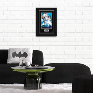 Silver Surfer- Hand-Signed Artwork Print By Artist Greg Horn Custom Frame