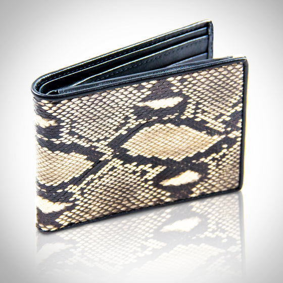 Authentic 'PYTHON-SNAKE SKIN' Bifold Wallet