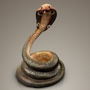 Cobra Cast Bottle Holder Display Stand
