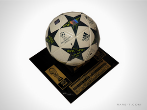 RARE-T Exclusive 'HAND-SIGNED MESSI & RONALDO SOCCER BALL' Museum Display