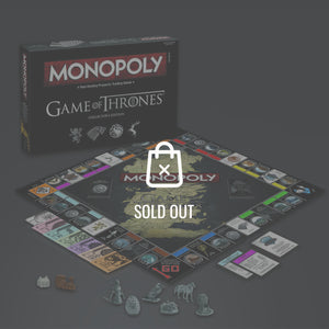 Game Of Thrones- Limited Premium Collector'S Edition Monopoly Game