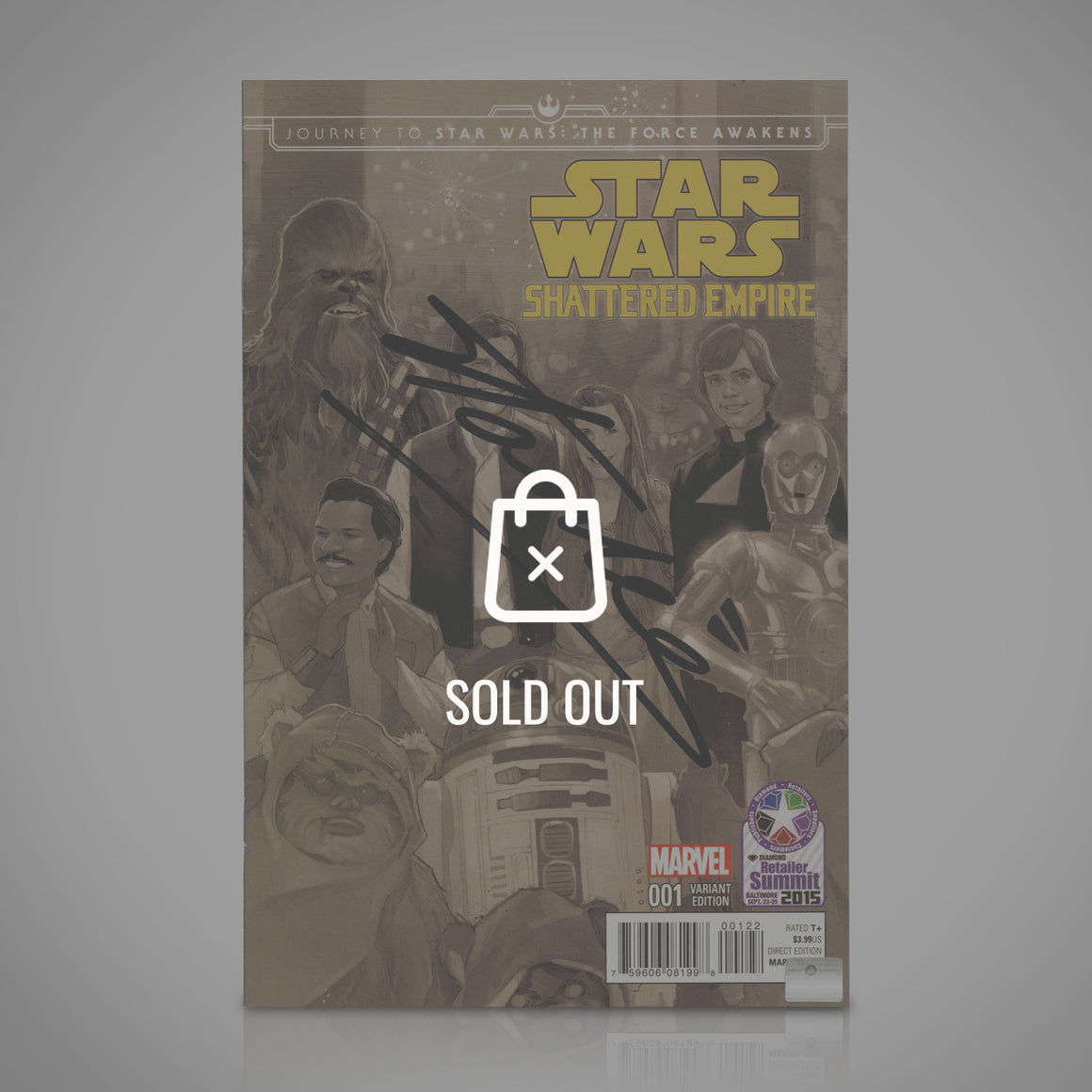 STAR WARS - Hand-Signed comic by Stan Lee