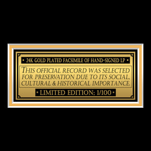 West Side Story Musical Soundtrack Limited Signature Edition Studio Licensed Gold LP Custom Frame