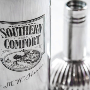 Southern Comfort Vintage Stainless Steel 3-Piece Bar Shaker/Mixer