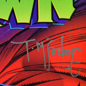 Spawn #1 - Handsigned By Todd Mcfarlane Comic Book