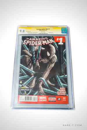 CGC Signature Series 'AMAZING SPIDER-MAN #1 Vol.3-9.8 HANDSIGNED BY STAN LEE'