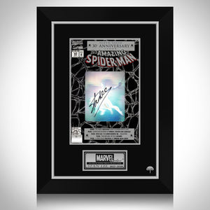 Spider-Man- Hand-Signed Amazing Spider-Man #365 Hologram Comic Book By Stan Lee Custom Frame