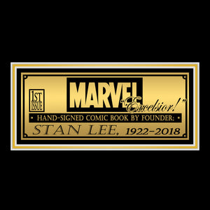 SPIDER-MAN #1 Torment- Gold Collector's Edition Hand-Signed Comic Book by  STAN LEE Custom Frame