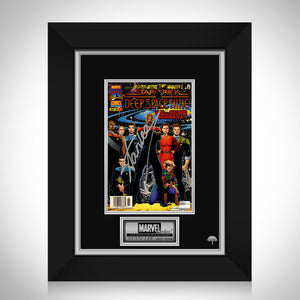 Star Trek: Deep Space Nine (1996) - #1 Hand-Signed Comic Book By Stan Lee Custom Frame