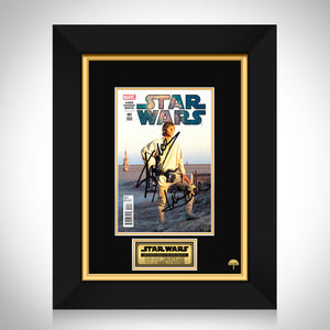 Star Wars #1 Stan Lee & Mark Hamill Limited Signature Edition Comic Book Cover Art Custom Frame