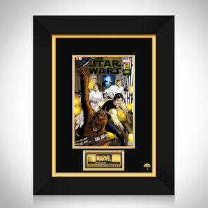 Star Wars- Marvel Variant Edition #1 Hand-Signed Comic Book by Harrison Ford Custom Frame