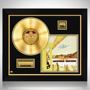 Stevie Wonder 'Innervisions'  Limited Signature Edition Studio Licensed Gold LP Custom Frame