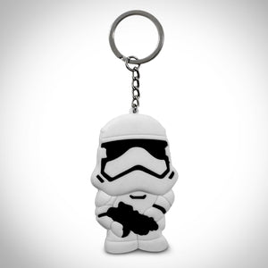 Star Wars Stormtrooper Double Sided Rubber Keychain