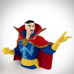 Dr Strange In Classic Pose Premium Limited Edition Bust Bank Statue