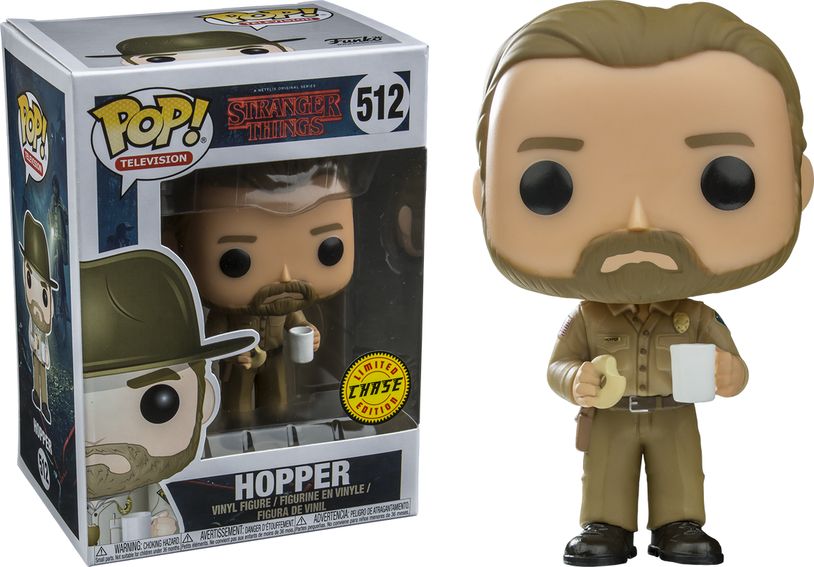 STRANGER THINGS - HOPPER CHASE Pop