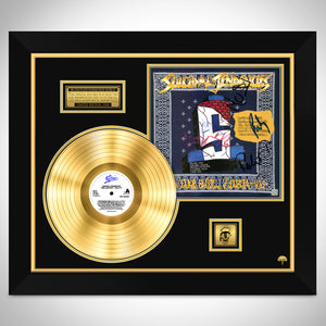 Suicidal Tendencies Feel Like Shit.. Déjà-Vu Limited Signature Edition Licensed Gold LP Custom Frame
