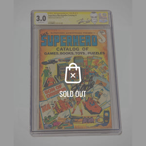 Cgc Signature Edition 'The Superhero #1 1977 The Year-3.0 Handsigned By Stan Lee'