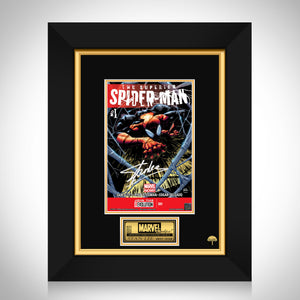 The Superior Spider-Man #1 Stan Lee Limited Signature Edition Comic Book Cover Art Custom Frame