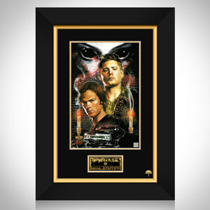 Supernatural- Hand-Signed Artwork Print By Artist Jon Pinto Custom Frame