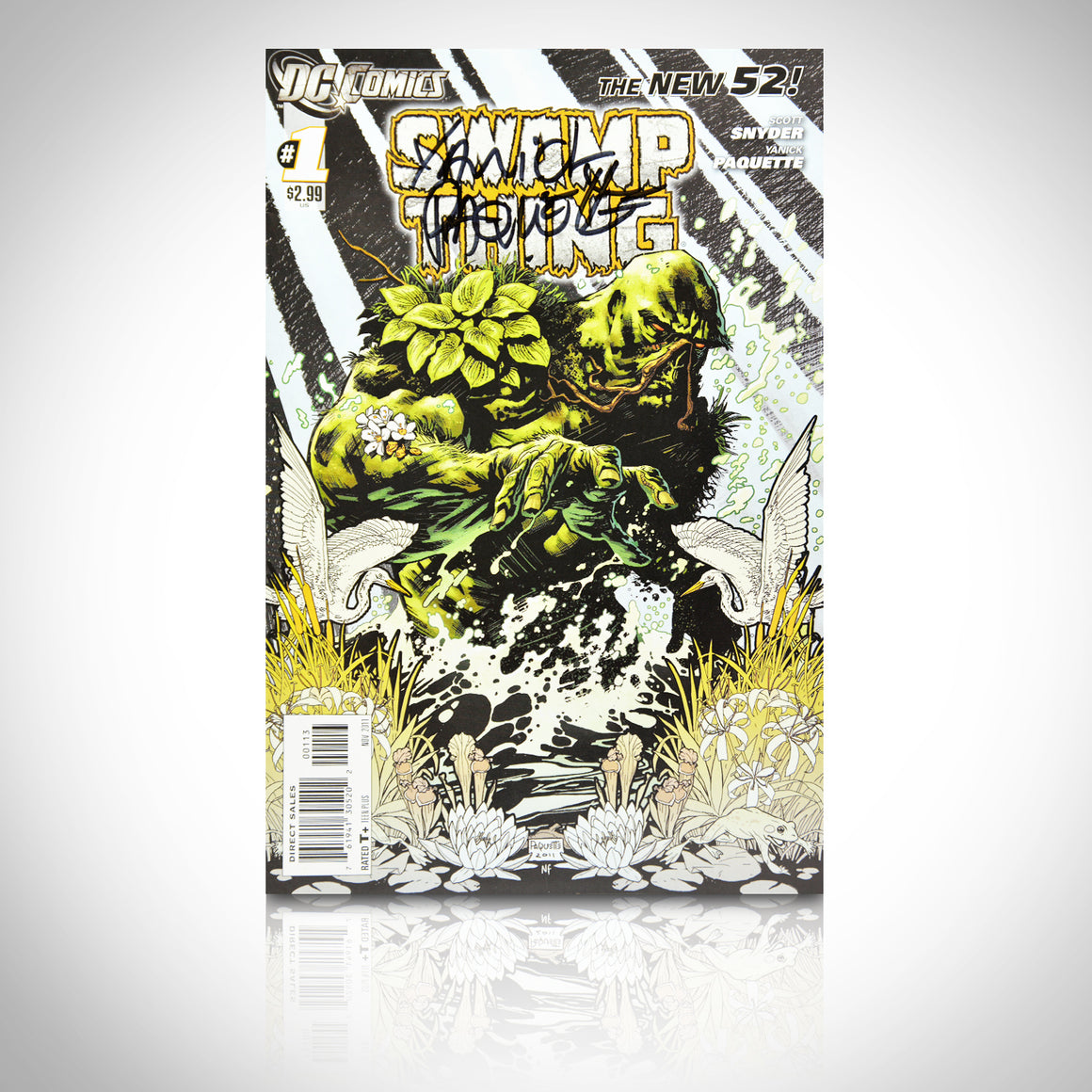 'SWAMP THING #1 - HANDSIGNED BY YANI PAQUETTE' Comic Book