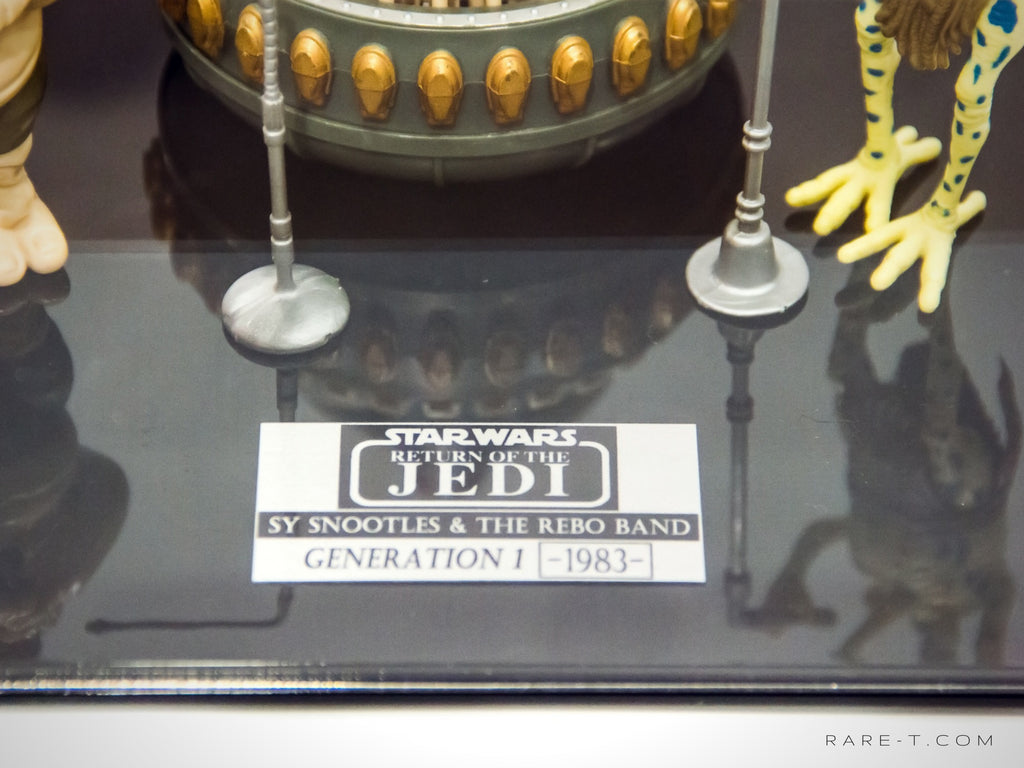 RARE-T Exclusive '1983 STAR WARS - SY SNOOTLES & REBO BAND' Museum Display