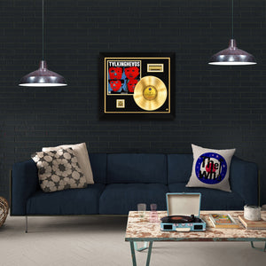 Talking Heads- Remain In Light Gold LP Limited Collector Edition Studio Licensed Custom Frame
