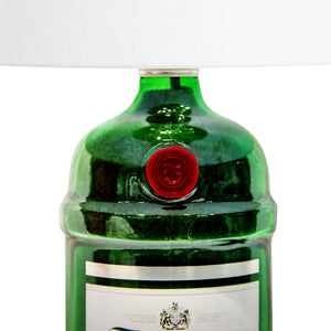 Tanqueray Liquor Bottle Lamp Hand-Made in Quebec Canada