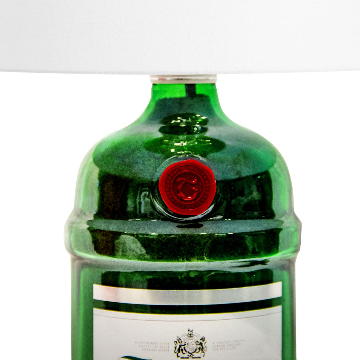 'TANQUERAY LIQUOR' Bottle Lamp