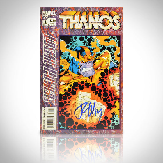 'COSMIC POWERS THANOS #1 - HANDSIGNED BY RON MARZ' Comic Book