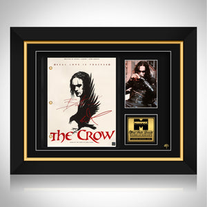 The Crow- Limited Signature Edition Studio Licensed Script Custom Frame