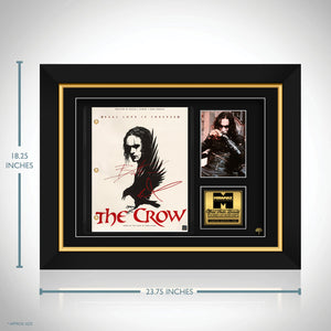The Crow Script Limited Signature Edition Studio Licensed Custom Frame